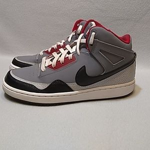 Nike Alpha Baller Mid Gray Basketball Shoes sz.7.5